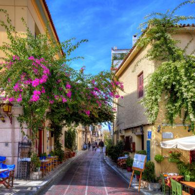 Explore the Plaka Neighbourhood, Athens
