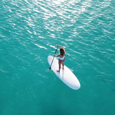 Stand Up Paddling in Santorini