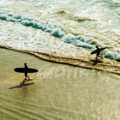 Surfing, Biarritz