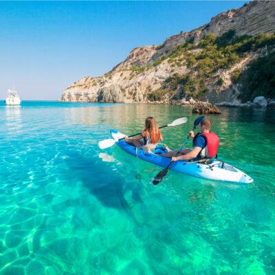Sea Kayaking, Poros